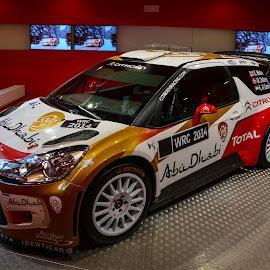 Citroen Rally Car by Dejan Stefanac - Transportation Automobiles ( race car, car, rally, show room, show, citroen )