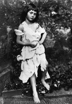 Alice Liddell photographed by Charles Dodgson at age six