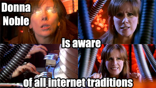 Donna Noble from Season 4 finale of New Who