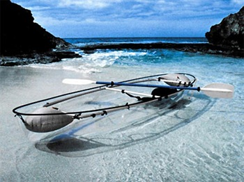 Transparent Canoe