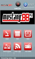 Screenshot of Mustang FM