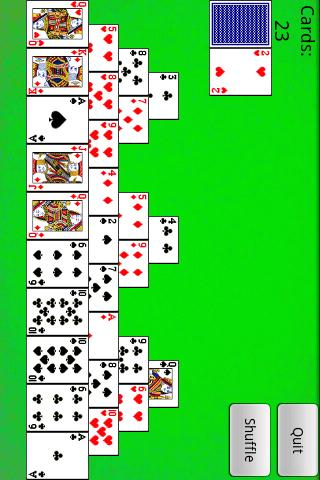 tri-peaks-solitaire for android screenshot