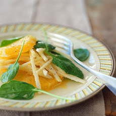 Jicama and Orange Salad with Citrus-Cumin Vinaigrette