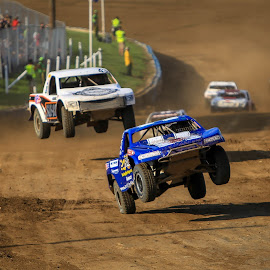 Big Air by Kenton Knutson - Sports & Fitness Motorsports ( trucks, pro lite, racing, offroad, off road, dirt, jump )