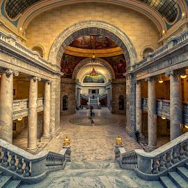 Utah State Capitol Building by Mike Vought - Buildings & Architecture Public & Historical ( utah, capitol, salt lake city )