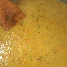 Jack's Chardonnay and Red Lentil Soup
