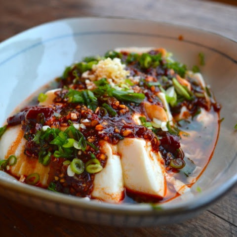 SPICY COLD TOFU (Liangban Dofu)