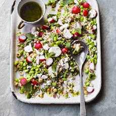 Broad Bean, Barley & Mint Salad