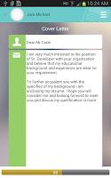 Screenshot of Resume ++ (A Resume Developer)