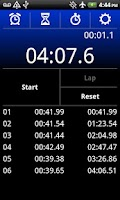 Screenshot of StopWatch Xtreme Free