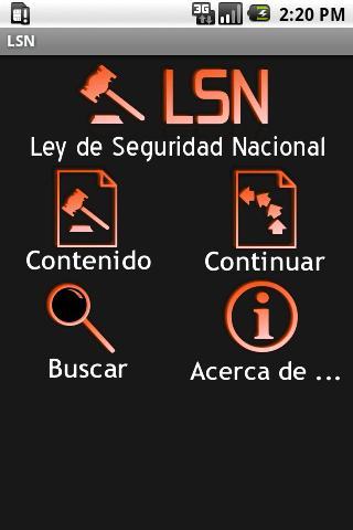 LSN – Ley de Seguridad Naciona