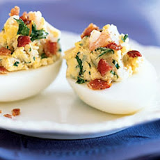 Bacon and Cheese Egg Appetizers