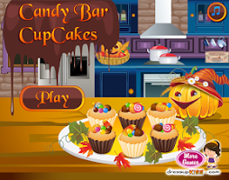 Screenshot of Candy bar cupcakes
