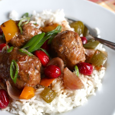 Slow-Cooker Sweet & Sour Turkey Meatballs