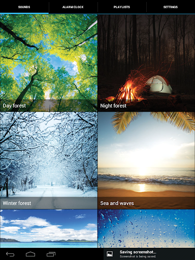 Nature sounds - Ecosounds - screenshot