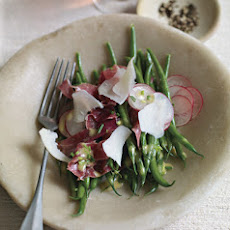 Green Bean Salad with Radishes and Prosciutto
