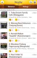 Screenshot of OpenRice Indonesia