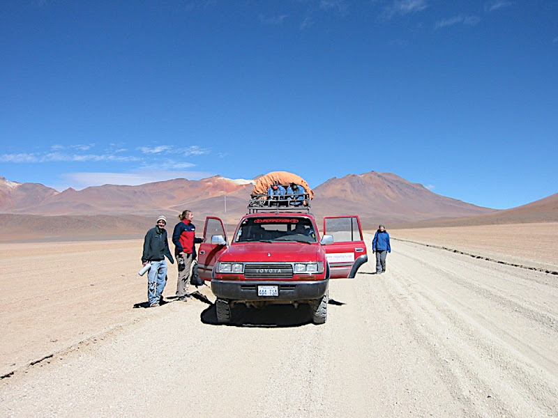 Road across the Altiplano