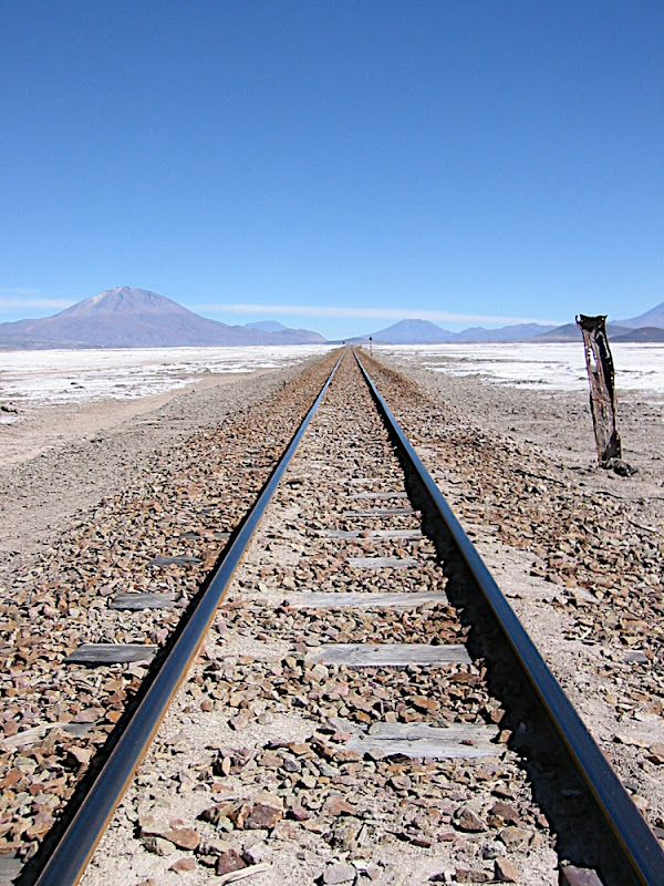 Rails over the Altiplano