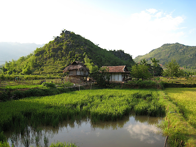 Lac Village near Mai Chau