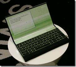 Fujitsu's folding computer