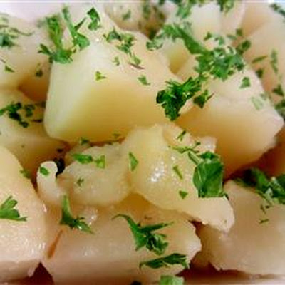 Herbed Potatoes with Sauce