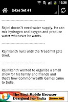 Screenshot of Mind It - Rajnikant Jokes
