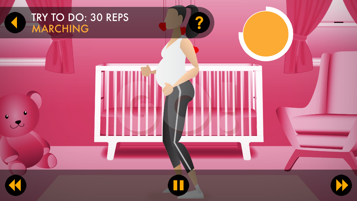 Pregnancy Workouts by Power 20 Screenshot 2