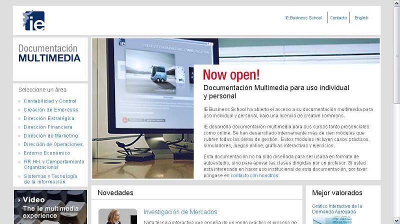 Documentación multimedia IE