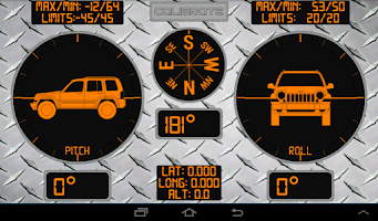 Screenshot of RMO Trial - Inclinometer 4X4