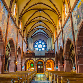 by Ralf Harimau Weinand - Buildings & Architecture Places of Worship ( saarland, kirche, deutschland, mettlach, church, germany )