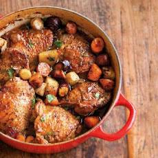 Beer-Braised Chicken and Vegetables Recipe