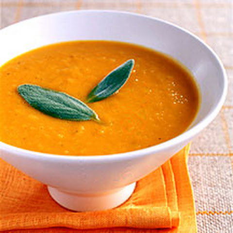 Ginger-Scented Apple-Squash Soup