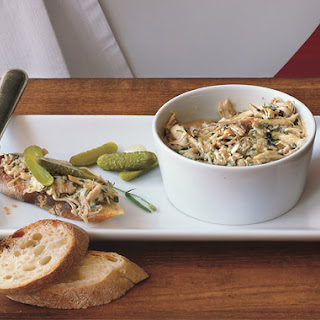 Potted Chicken Rilletes
