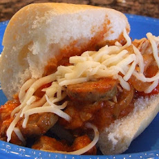 Chicken Caliente Sandwich
