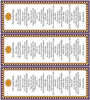 image relating to Pumpkin Prayer Printable called This Facet of Heaven Graphics: The Pumpkin Prayer