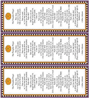 photo about Pumpkin Prayer Printable identify This Facet of Heaven Graphics: The Pumpkin Prayer