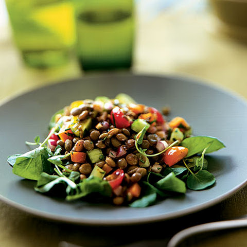 lentil salad with tomato and dill recipes dishmaps lentil salad ...