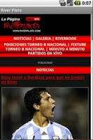 Screenshot of Lector noticias River Plate