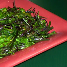 Recipe for Sauteed Broccoli Rabe with Balsamic Vinegar