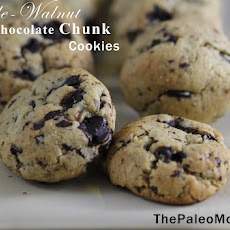 Maple-Walnut Dark Chocolate Chunk Cookies