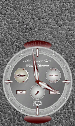GoLocker CLock Theme MetalGrey