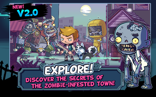 ZOMBIES ATE MY FRIENDS - screenshot