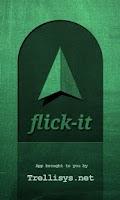 Screenshot of Flick-it