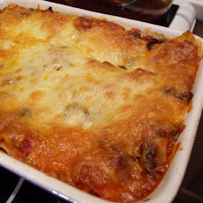 One-Step Lasagna with Sausage and Basil
