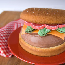 Hamburger Ice Cream Cake