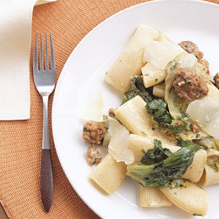 Pasta with Sausage and Escarole