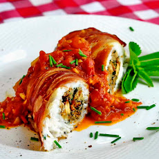 Stuffed Cod a la Empire