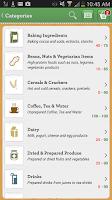Screenshot of NutriSavings