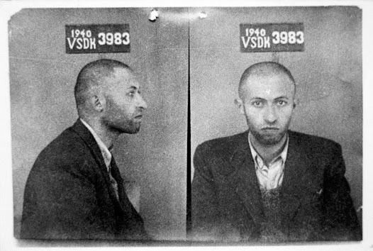 Arrested by the Soviet secret police and sentenced to eight years in prison. September 1940